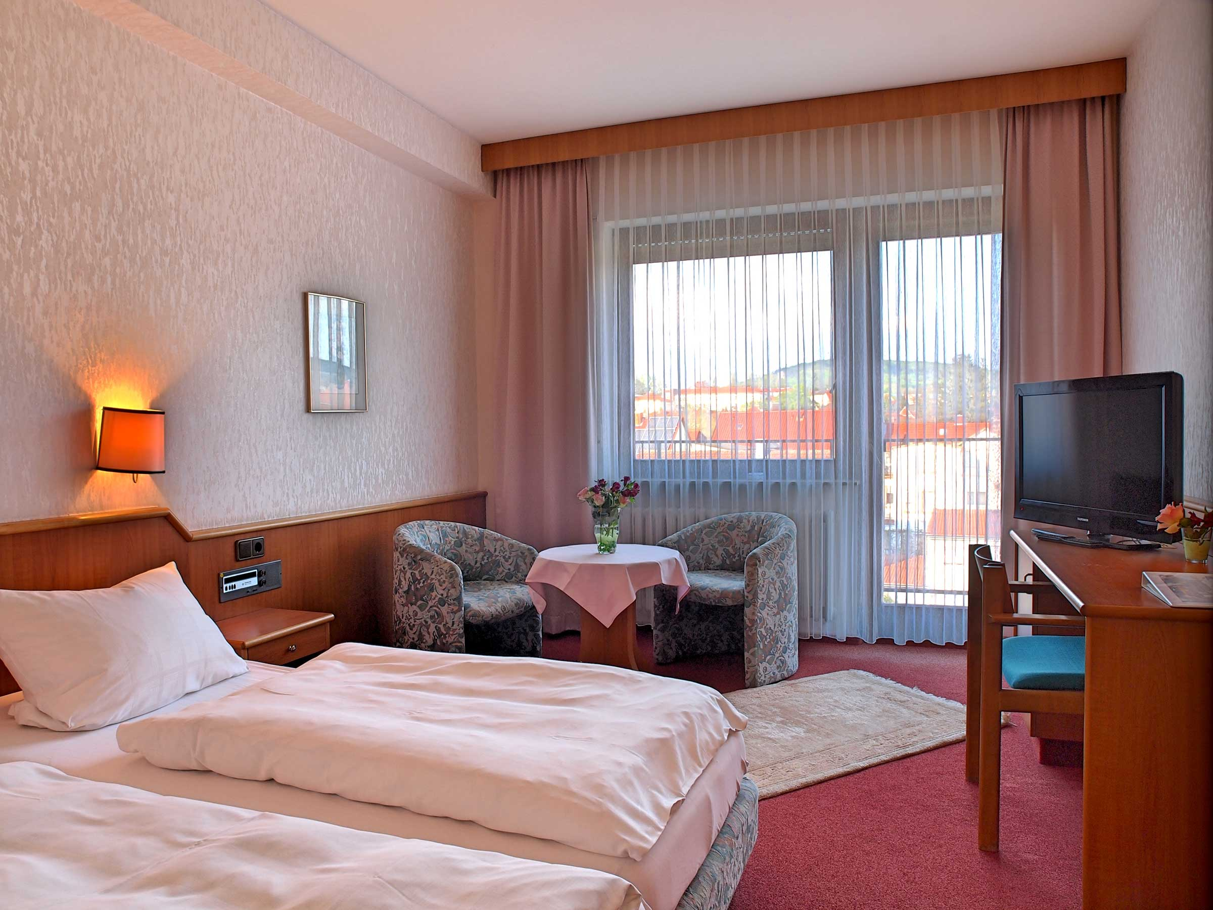 Doppelzimmer Hotel Doesch Bad Kissingen